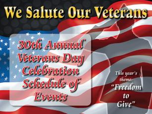 30th Annual Veterans Day Celebration