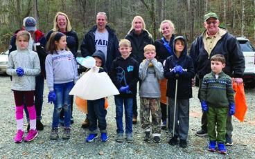 The Friends of Zion Hill are among the local groups of volunteers that have signed up to participate in the Adopt-A-Road cleanup program offered by Keep Gilmer Beautiful.