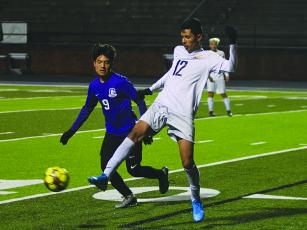 Gilmer's David Reynoso (9) netted a pair of goals for the Bobcats in their victories last week.