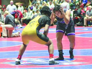 Recent Gilmer High graduate Karina Gonzalez will continue to wrestle at the collegiate level at William Penn University in Iowa.