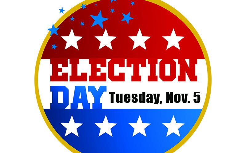 Election day is Nov. 5