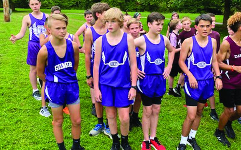 Clear Creek Bobcat cross-country runners placed third at last week's North Georgia Championship.