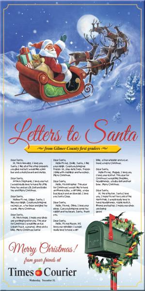 Letters to Santa 2019 and Christmas Greetings