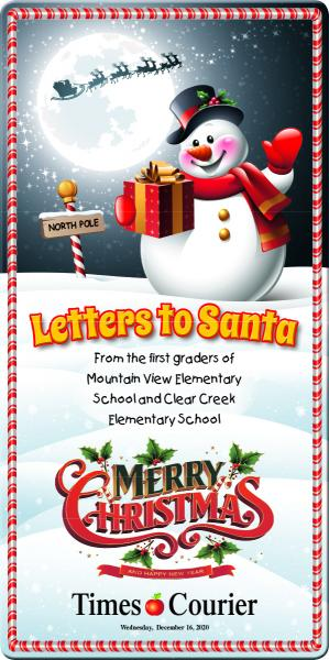 Letters to Santa 2020 and Christmas Greetings